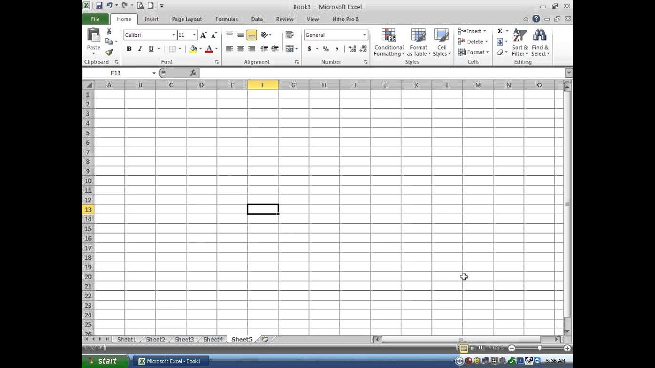 Microsoft Excel - Review