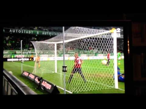 Kevin De Bruyne amazing volley vs LOSC Lille! 1-1