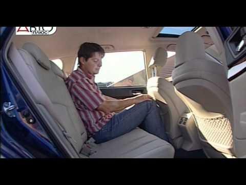 Subaru outback 2010, тест-драйв