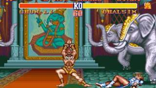 Street Fighter 2 Chun Li Gameplay
