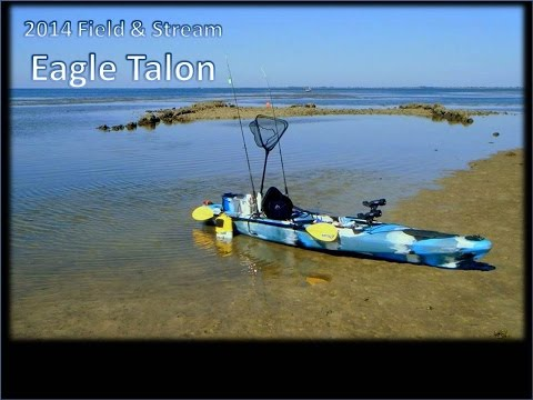 Field and Stream Eagle Talon Kayak Setup