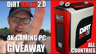 Cooler Master DIRT RALLY 2.0 4K Gaming PC Build & Case Mod Giveaway, All Countries