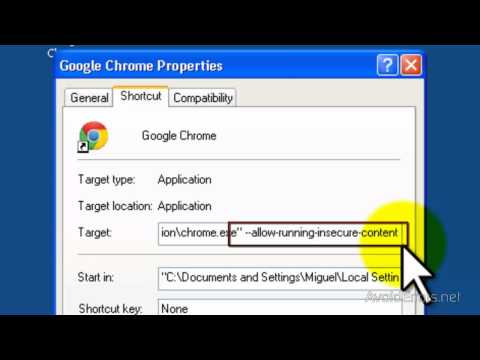 How to Disable Insecure Content Warning in Google Chrome