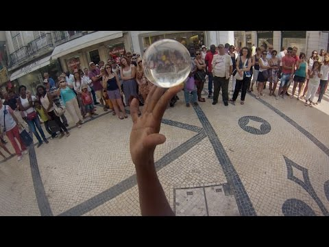 GoPro: Crystal Ball Street Performer
