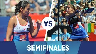 Resumen Semifinal Mapi/Majo VS Martita/Ariana Valladolid Open 2018 | World Padel Tour