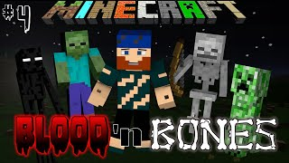 Minecraft Hardcore Modded | Blood and Bones | #4 THE HOLY CARROT OF CARROTDOM