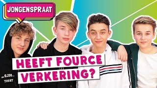 FOURCE OVER VERKERING | JONGENSPRAAT #6 | TinaTV