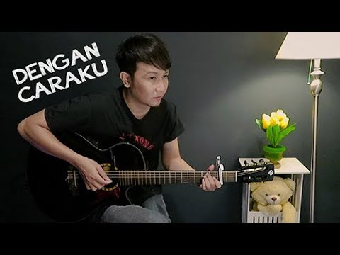 Download Lagu  Dengan Caraku - Brisia Jodie feat. Arsy Widianto - Nathan Fingerstyle | Guitar Cover Mp3 Free