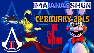 BEST OF FEBRUARY 2015 - Imajanaeshun Highlights