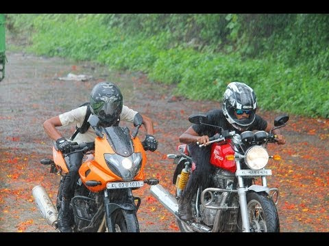 Royal Enfield Continental Gt Vs Bajaj Pulsar 220f Drag Race #fastest Indian Myth Busted# video