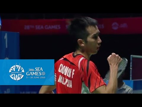 Badminton Mas vs Tha (Day 10) | 28th SEA Games Singapore 2015