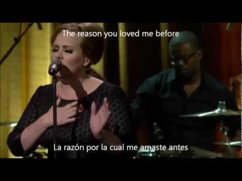Adele - Don't You Remember Subtitulada Ingles / Español