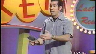 Strip Poker Television Game Show (USA Network) 1/4