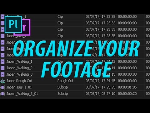 How to Use Adobe Prelude CC (2017) to Organize Your Footage
