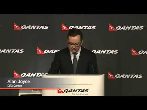 Qantas Posts Record Loss as Restructuring Costs Bite