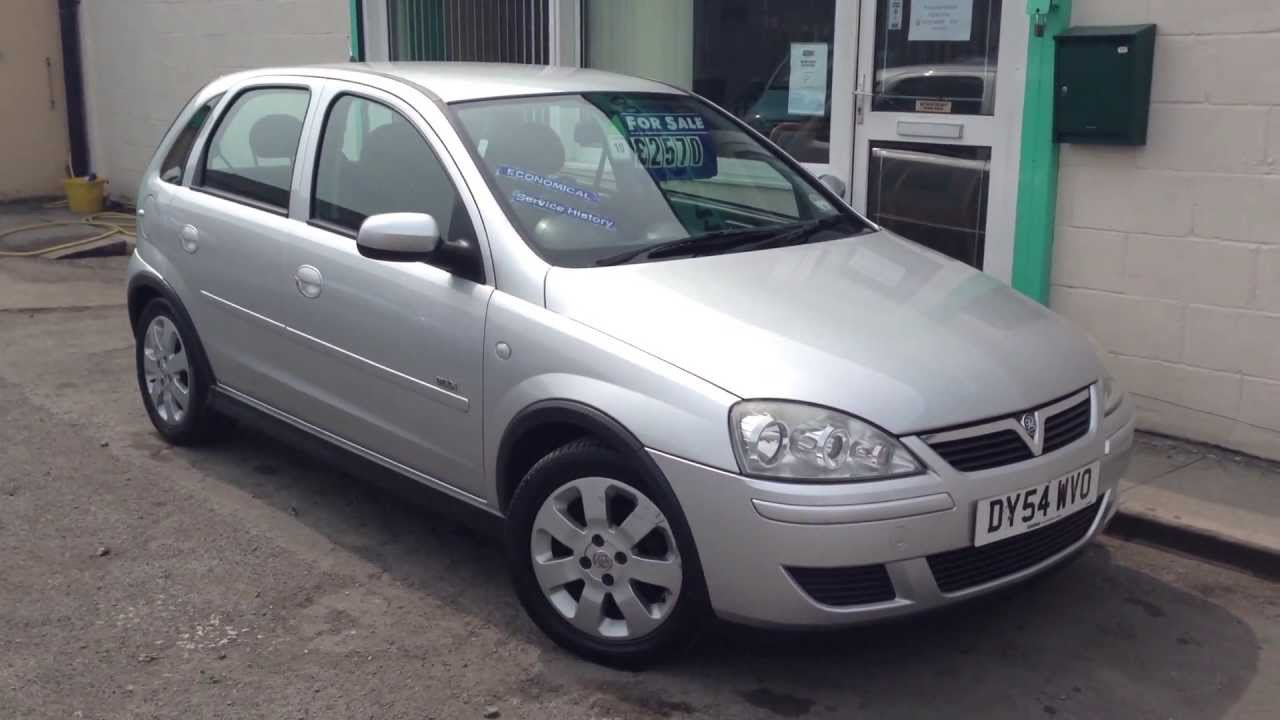 2004 vauxhall corsa design twinport 1 2 petrol 5dr hatchback silver youtube. Black Bedroom Furniture Sets. Home Design Ideas