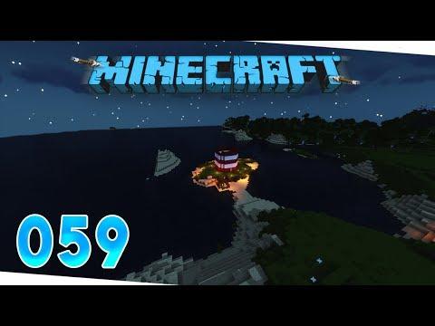 Sicherheitsvorkehrungen beim Leuchtturmbau! #059 - Let's Play Minecraft 1.13 | Deutsch