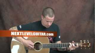 Learn how to play Neil Young inspired song acoustic classic rock Sugar Mountain style guitar lesson
