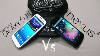Google Nexus 4 Vs Samsung Galaxy S3 - Comparison and Review - Cursed4Eva com