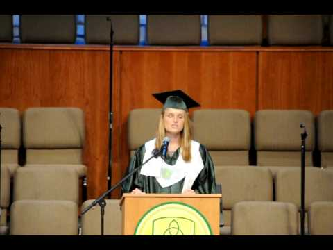 Bethany Brenneman, The Woodlands Christian Academy Commencement