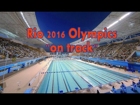 Rio 2016 Olympics on track