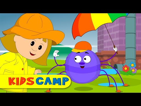Itsy Bitsy Spider | Incy Wincy Spider | Nursery Rhymes From Kidscamp video