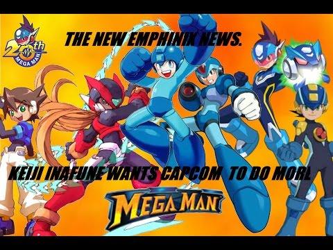 Keiji Inafune wants Capcom to bring back Mega Man