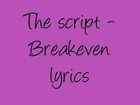 Download Lagu The Script -Breakeven lyrics MP3 Free