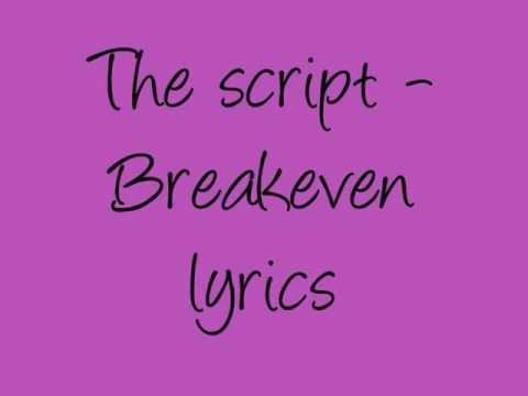 The Script -Breakeven Musics