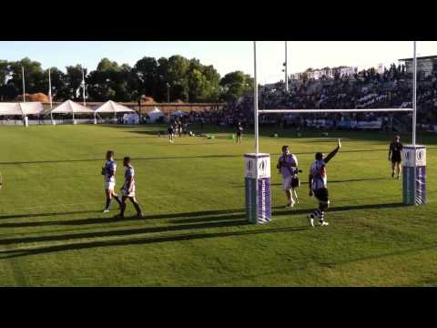 Post game lap Samoa Fiji