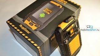 Распаковка RugGear RG210 Swift II (unboxing): комплект и первый запуск