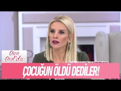 Şehmuz Bey: Annem hastaydı, çocuğun öldü dediler! - Esra Erol'da 5 Aralık 2017