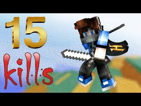15 УБИЙСТВ НА TEAM SKY WARS / 15 KILLS [Hypixel Sky Wars Minecraft Mini-Game]