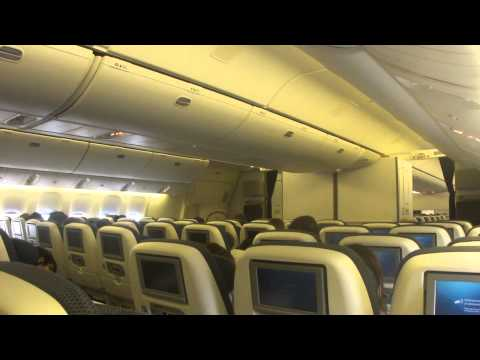 Inside British Airways Boeing 777-300ER