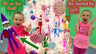 Elf on the Shelf - She Touched My Elf!! Will My Elf Lose It's Magic? Day 10