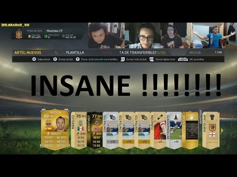 Fifa 15 | Pack Opening 8.0 | Media 89 + If + Jugadorazo | Djmariio video