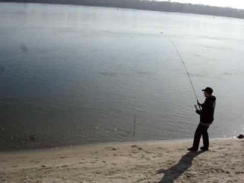 ловля язя на оби с берега