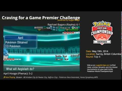VGC '14 British Columbia Premier Challenge: Top 4 - April H (Phenac) vs Raphael B. (Rapha)