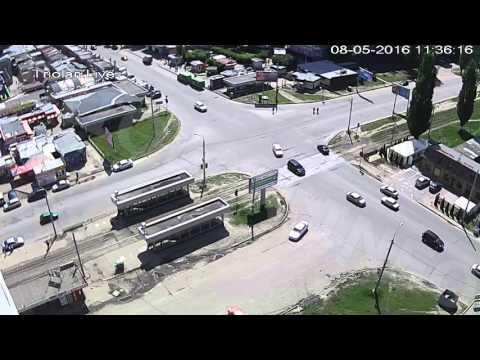 ДТП на перекрестке ул. Академика Павлова — ул. Валентиновская (08-05-2016)