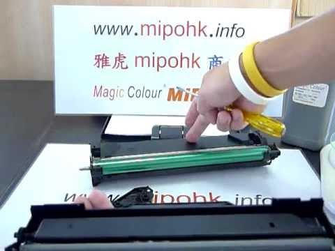 Samsung MLT-D104  ML1660 ML1860 Toner Refill Cartridge mipo mipohk