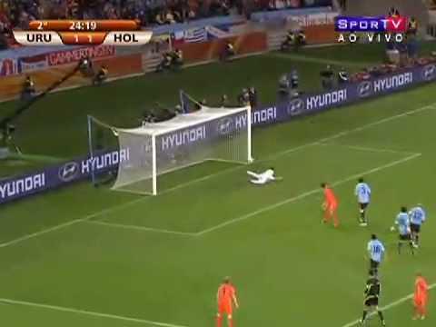 Uruguai 2 x 3 Holanda