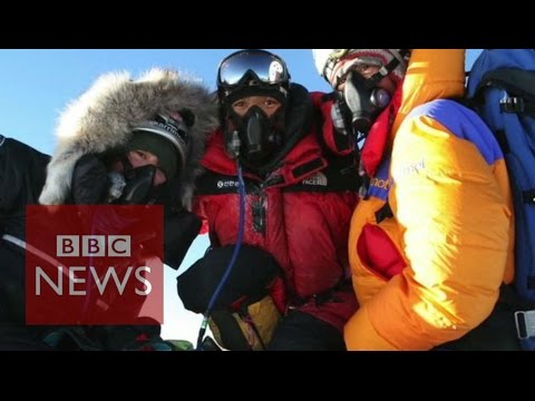 What is it like to climb Everest? BBC News