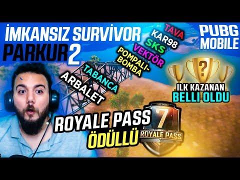 İMKANSIZ KÖPRÜYÜ İLK KAZANAN KİM? PUBG Mobile Royale Pass UC Ödüllü Survivor Yarışması