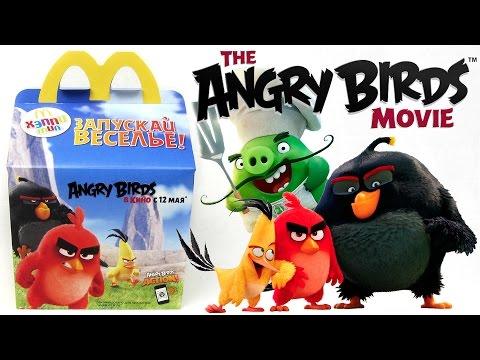 Хэппи Мил Энгри Бердс / Злые Птицы Май 2016   Happy Meal Angry Birds May 2016