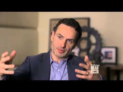 Talking Dead Andrew Lincoln talks about cutting his beard