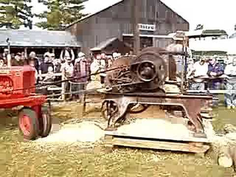Shingle Mill at the Fryeburg Fair Farm Museum
