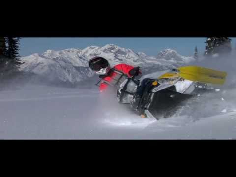 World's most beautiful snowmobile movie HD