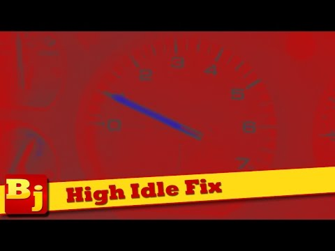 How to Fix a High Idle - TPS Adjust