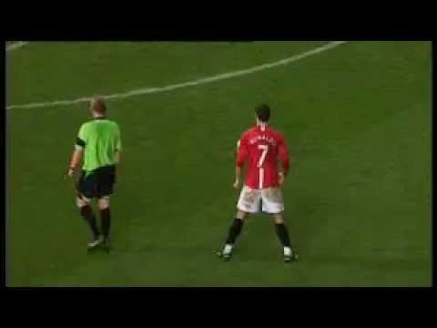 Manchester United 5-0 Stoke City, 15 November 2008