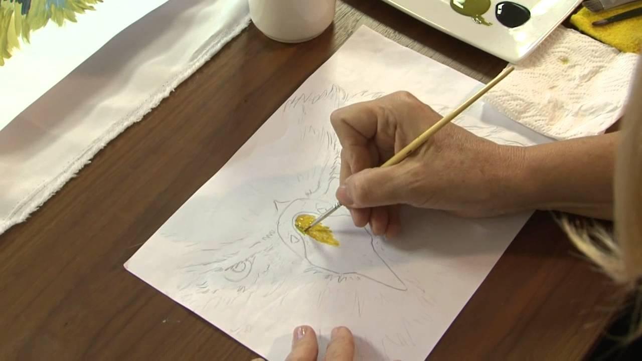 Sublimacion sobre tela como pintar una imagen y - Como pintar sobre tela ...